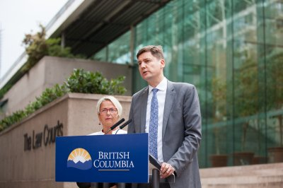 British Columbia sues pharmaceutical companies over opioid crisis