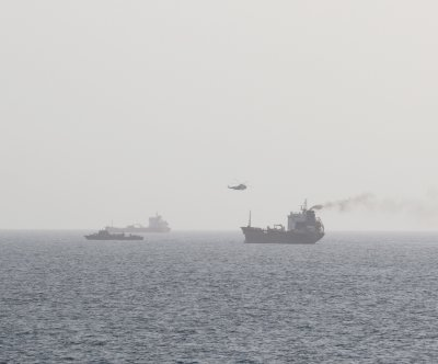 Iranian forces boarded civilian tanker in international waters, U.S. says