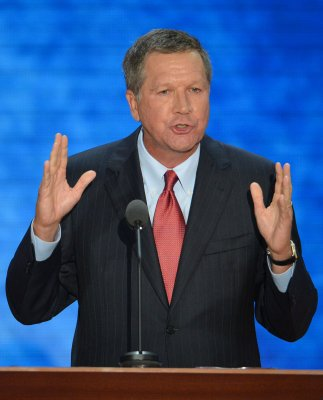 Poll: Gov. Kasich of Ohio has a big lead in bid for another term