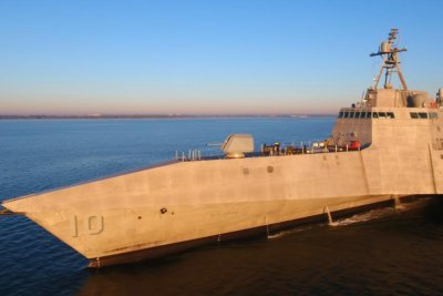 Future USS Gabrielle Giffords completes acceptance trials