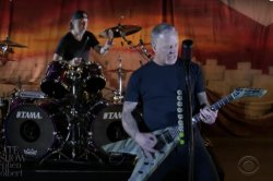 Metallica performs 'Battery' on 'Master of Puppets' anniversary