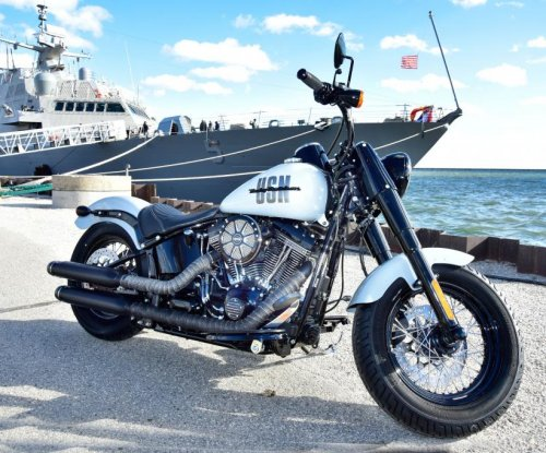 Harley-Davidson commemorates USS Milwaukee with one-of-a-kind bike