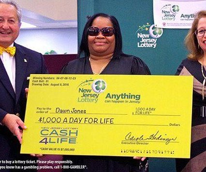 New Jersey woman feared 'heart attack' when she won huge lottery prize