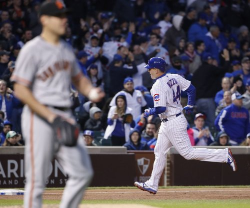 Chicago Cubs hang on for 5-4 win over San Francisco Giants