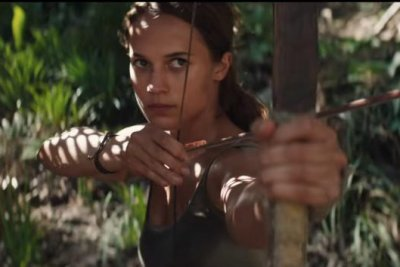 Alicia Vikander is the new Lara Croft in first 'Tomb Raider' trailer