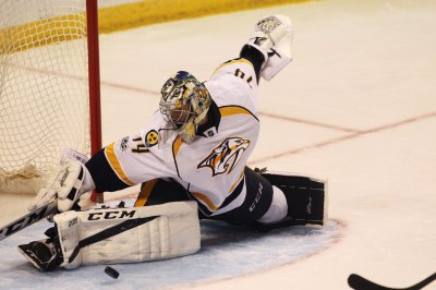 Juuse Saros, Nashville Predators best in the West after beating Dallas Stars