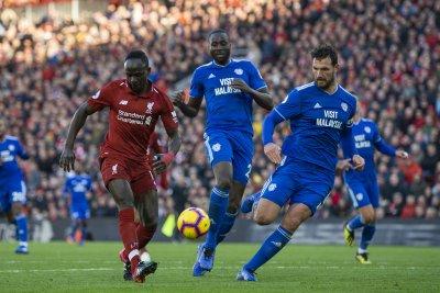 Sadio Mane scores twice in Liverpool victory