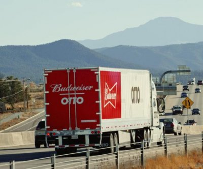 Anheuser-Busch, Otto complete first self-driving truck delivery of beer