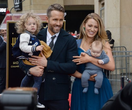 Ryan Reynolds, Blake Lively's children make public debut during Walk of Fame ceremony
