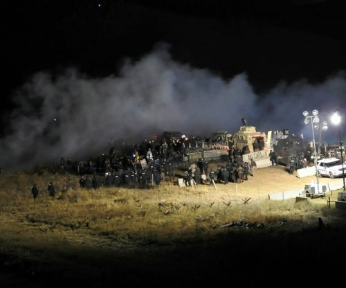 Three arrested in Dakota Access Pipeline protest