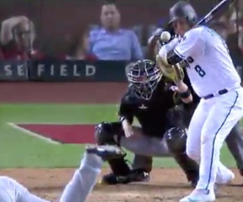 Chris Iannetta drilled in face with 93 mph fastball, no concussion