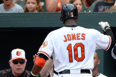 Adam Jones homers twice as Baltimore Orioles rout Minnesota Twins