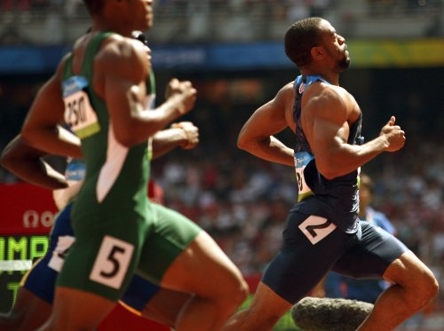 Tyson Gay reaches 100 semifinals