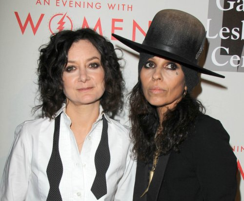 Sara Gilbert and wife Linda Perry welcome first child