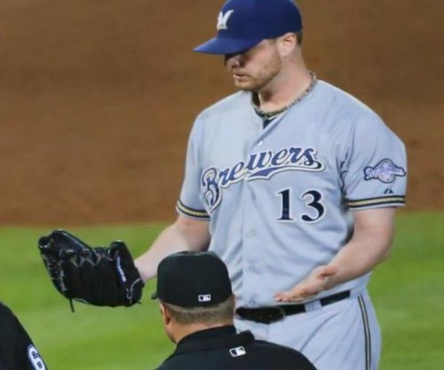 Milwaukee Brewers P Smith ejected for foreign substance