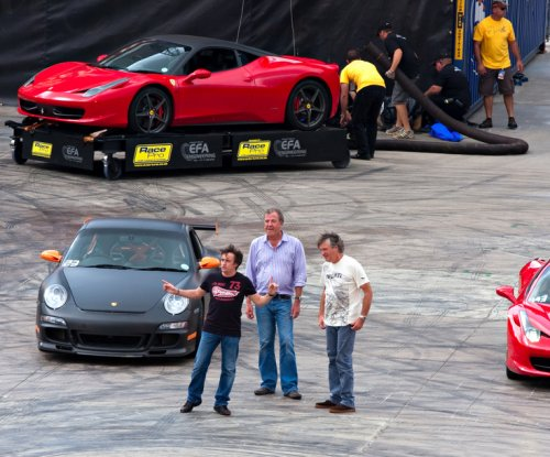 Jeremy Clarkson, Richard Hammond and James May name Amazon show 'The Grand Tour'