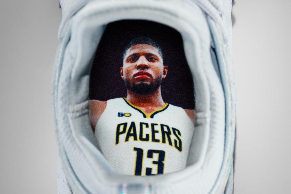 d39fda6a976b Paul George debuts fresh first signature shoes - UPI.com