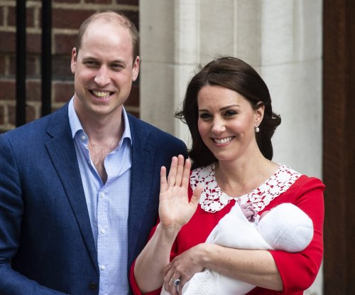 Kensington Palace releases photos from Prince Louis' christening