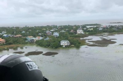 Dorian: Hundreds trapped on Ocracoke Island, N.C., after 'catastrophic flooding'