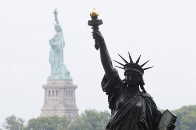 'Little Lady Liberty' makes trip from France to NYC