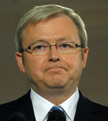 Chinese reportedly try to hack Rudd
