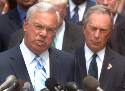 Boston Mayor Thomas Menino hospitalized