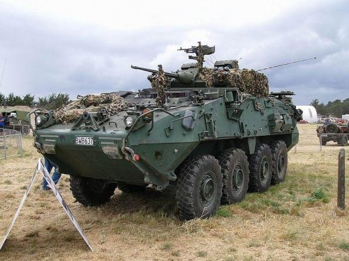 Canada's LAV III vehicle upgrade to include enhanced surveillance suite