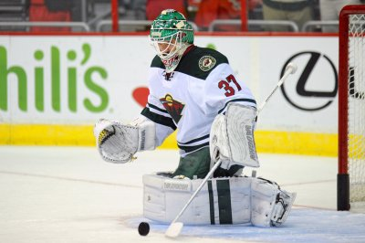 Wild goalie Josh Harding shelved one week for MS treatment