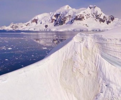Swedish film crew captures drone footage over Antarctica