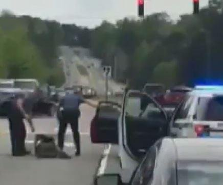 Two Georgia police officers fired after violent traffic stop