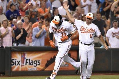 Seth Smith, Manny Machado homers help Baltimore Orioles edge Boston Red Sox