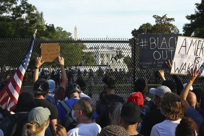 Air Force looking into reports that planes monitored protesters