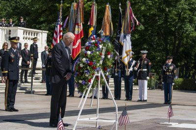 Biden remembers 'precious' lives lost in Memorial Day remarks