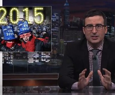 John Oliver explains how to handle New Year's Eve in new Web video