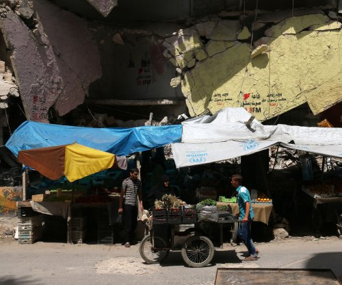 Warplanes strike rebel strongholds in Aleppo day after U.S. bombs Syrian troops