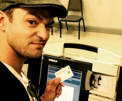 Timberlake's voting selfie highlights little-known ban on polling photos