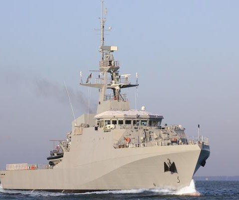 Construction begins for Britain's 5th Offshore Patrol Vessel