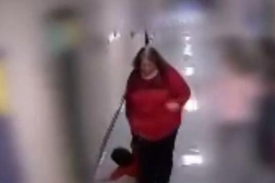 Kentucky teacher faces assault charges after video shows her dragging autistic boy