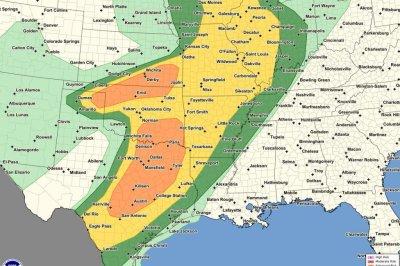 Thunder storms, tornadoes, hail to threaten dozens of states
