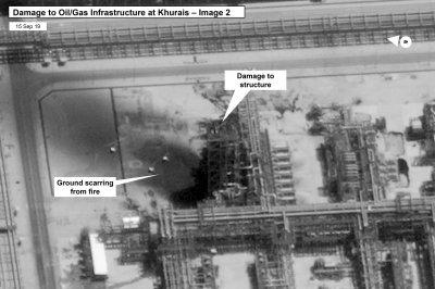 Britain, France, Germany blame Iran for Saudi oil attacks