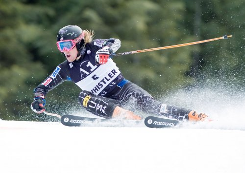 Janka wins gold in Worlds giant slalom
