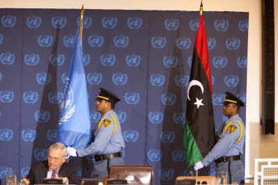 U.N. re-establishing ties with new Libya