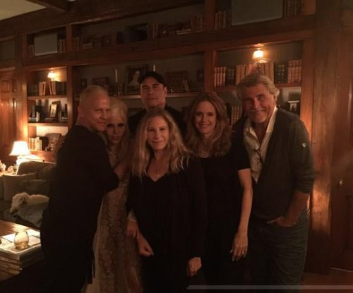 Barbra Streisand parties with John Travolta, Lady Gaga