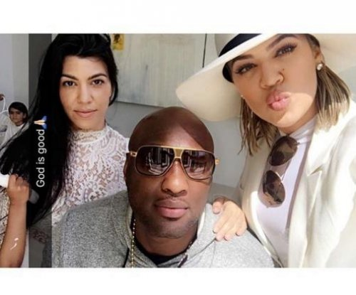 Khloe Kardashian and Lamar Odom celebrate Easter as family
