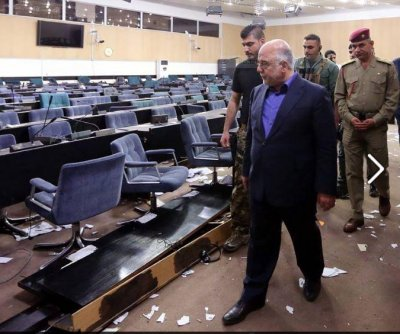Iraq parliament protesters ordered jailed after siege