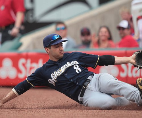 Ryan Braun hits two of Milwaukee Brewers' five homers in win over New York Mets
