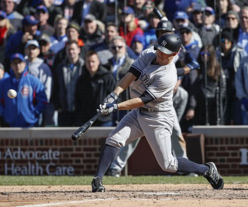 Brett Gardner's blast in ninth propels New York Yankees past Chicago Cubs