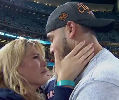 World Series: Houston Astros' Carlos Correa proposes to girlfriend after win