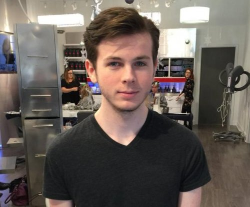 Chandler Riggs cuts mullet after 'Walking Dead' shocker