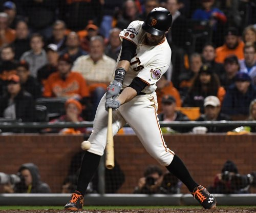 Giants' Brandon Belt has record 21-pitch at-bat vs. Angels